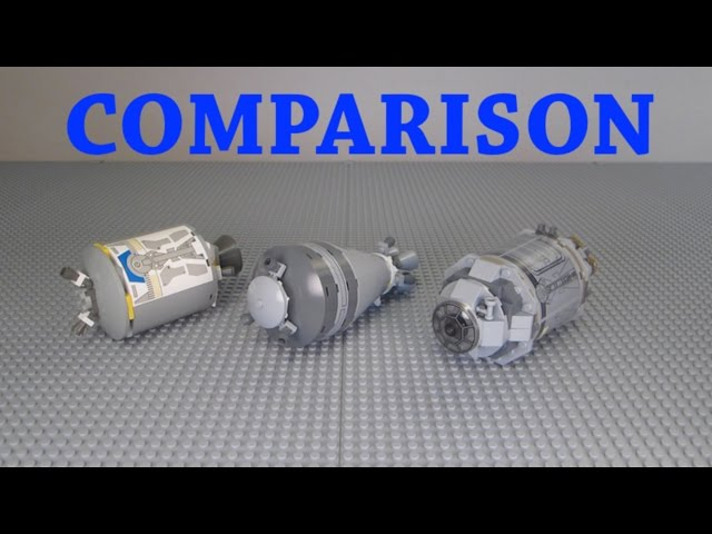 LEGO Star Wars Droid Escape Pod Comparison! (7106, 9490,& 75136)