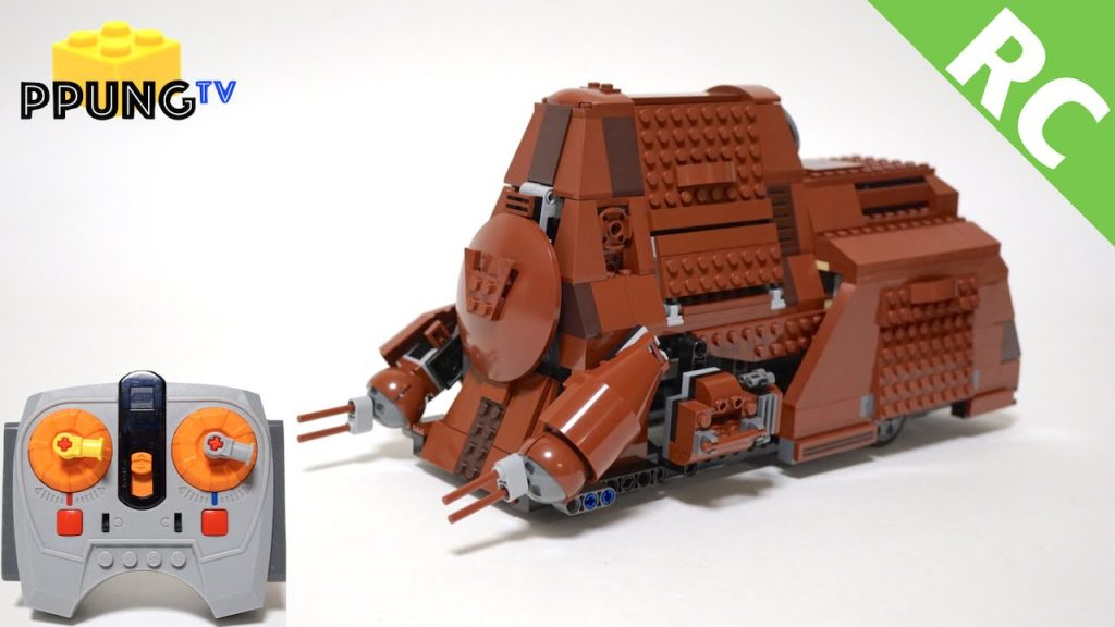 LEGO Star Wars 75058 RC Motorized MTT (Battle of Naboo) by 뿡대디