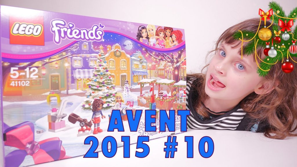 [LEGO FRIENDS] Calendrier #10 de l'Avent 2015 – Studio Bubble Tea unboxing Advent Calendar