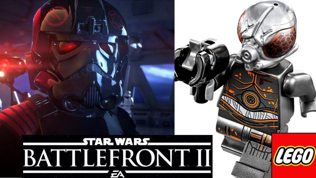 LEGO 2017 ОХОТНИКИ за ГОЛОВАМИ Обзор Star Wars Battlefront 2