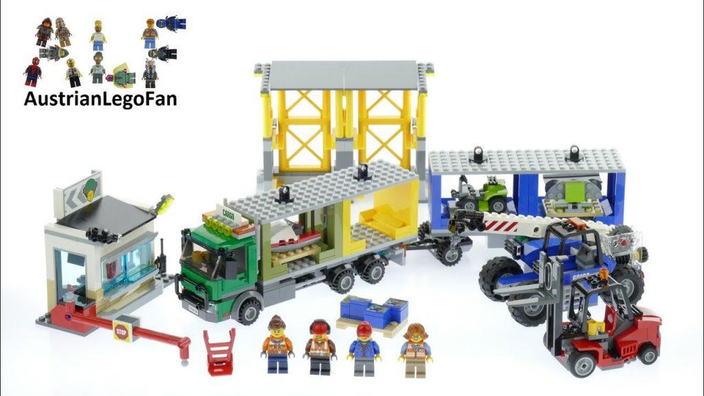 Lego City 60169 Cargo Terminal – Lego Speed Build Review