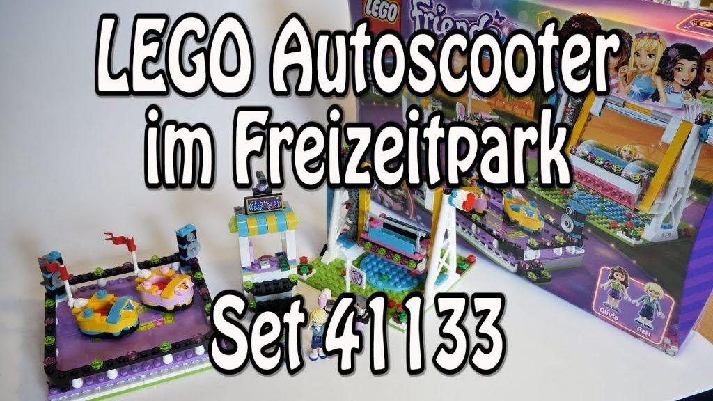 Test: LEGO Autoscooter im Freizeitpark (Set 41133 Friends Review deutsch)