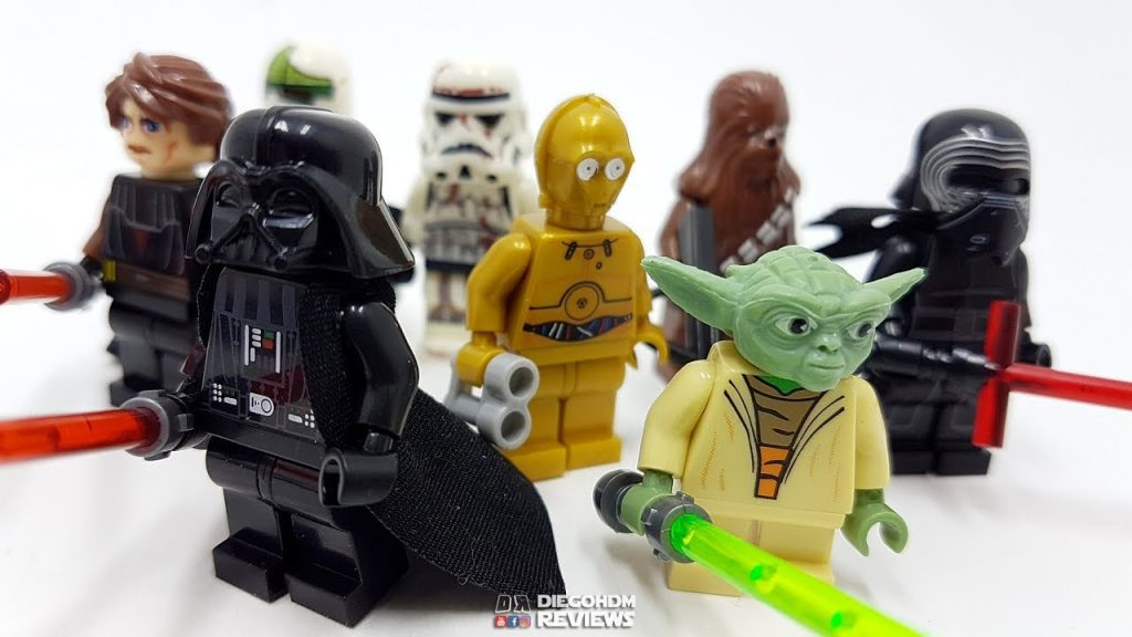 LEGO Star Wars Minifiguras Review BR / DiegoHDM