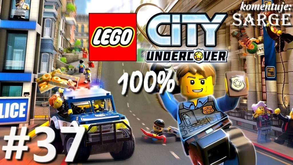 Zagrajmy w LEGO City Tajny Agent (100%) odc. 37 – Most nad Zatoką Auburn   LEGO City Undercover PL