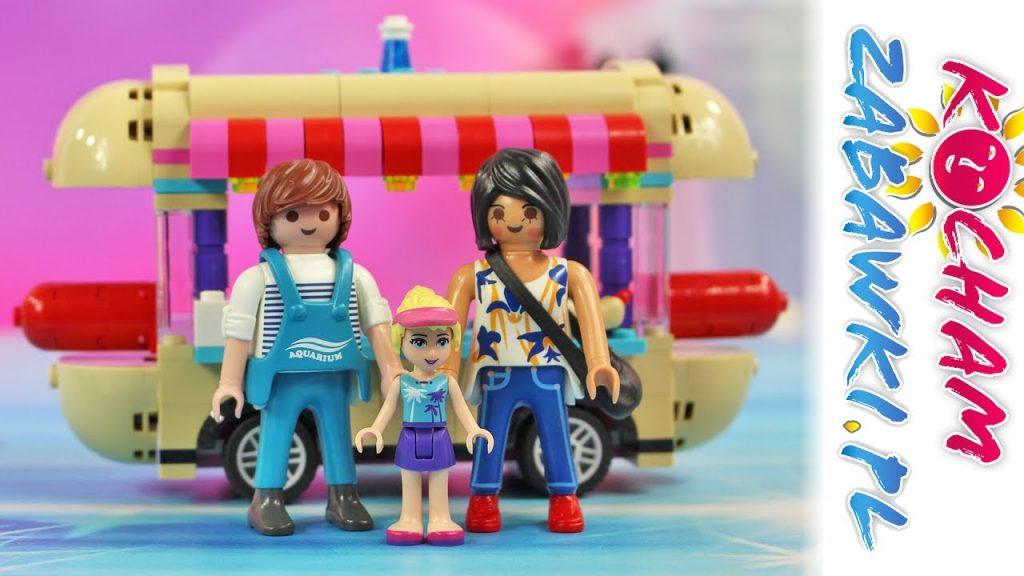 Playmobil & Lego Friends & Lego Vaiana – Budka z hot dogami – Bajki dla dzieci