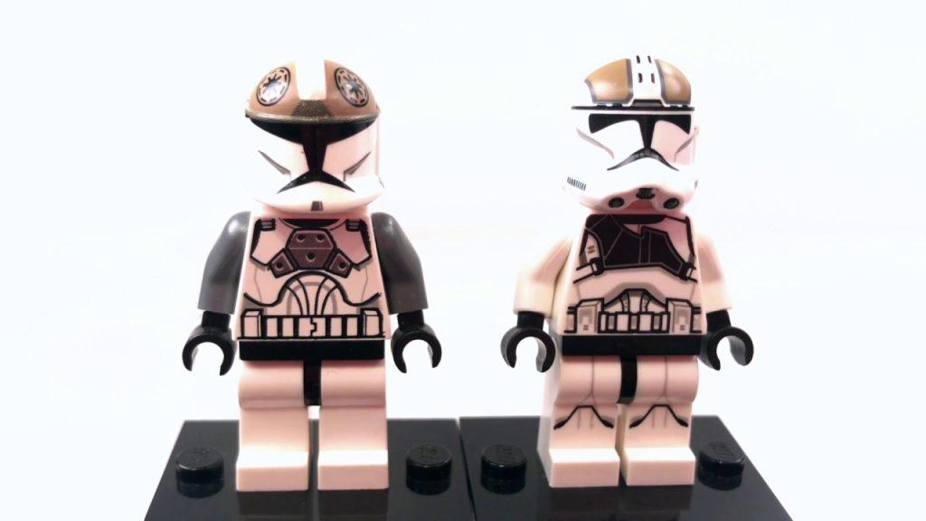 LEGO Star Wars CLONE GUNNER Minifigure Comparison!