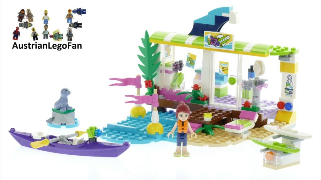 Lego Friends 41315 Heartlake Surf Shop – Lego Speed Build Review