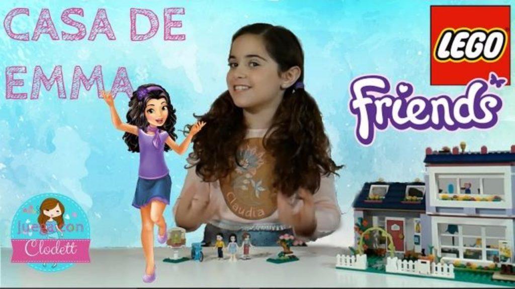 JUGUETES LEGO FRIENDS 💜 CASA DE EMMA 💜 SET 41095 💜 EMMA'S HOUSE 💜 REVIEW 💜 JUEGA CON CLODETT