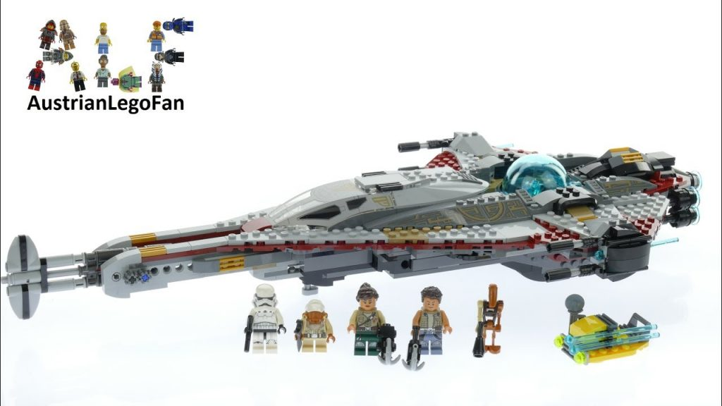 Lego Star Wars 75186 The Arrowhead – Lego Speed Build Review