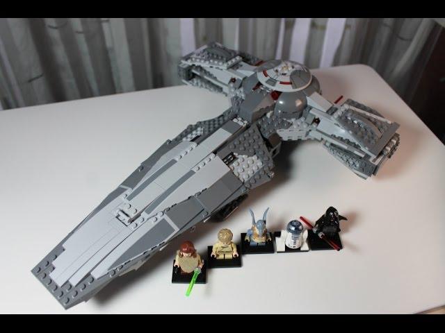 LEGO Star Wars Set 75096 Sith Infiltrator Unboxing & Review deutsch german