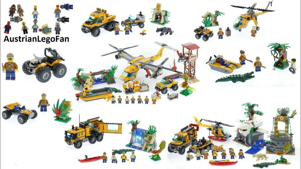 All Lego City Jungle Exploration Sets 2017 – Lego Speed Build Review
