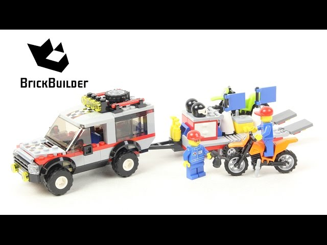 Lego City 4433 Dirt Bike Transporter – Lego Speed Build