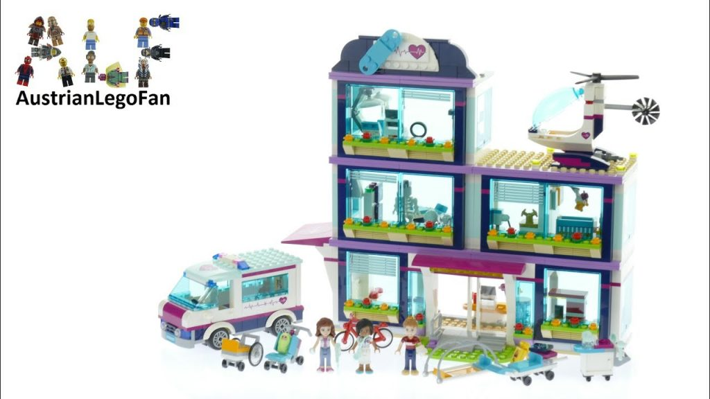 Lego Friends 41318 Heartlake Hospital – Lego Speed Build Review