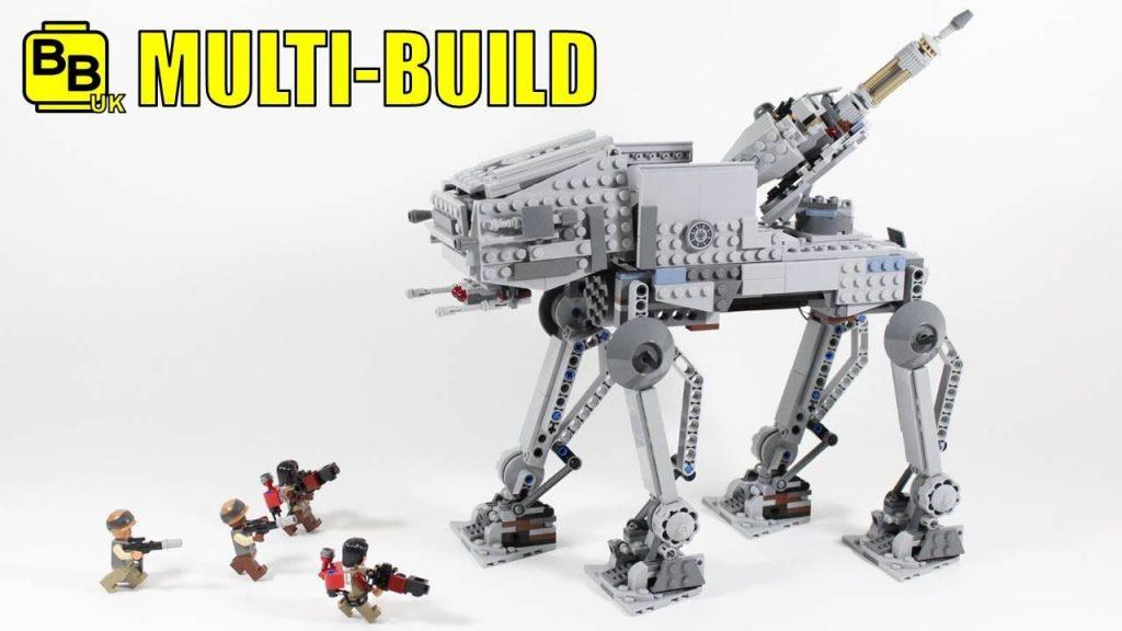 LEGO STAR WARS 75153 X2 MULTI-BUILD AT-IC WALKER!