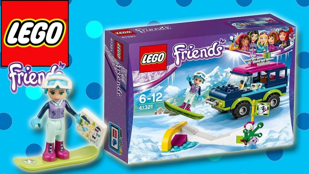 LEGO FRIENDS – SNOW RESORT OFF ROADER | Little Kelly & Friends ToysReview for Kids