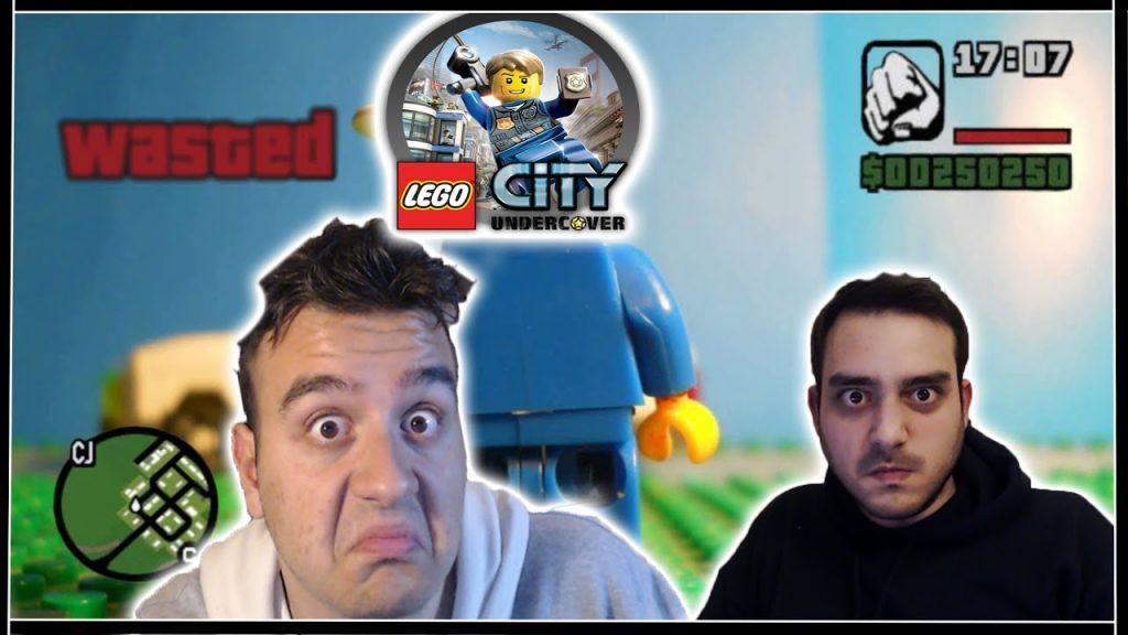 GTA με Lego ? ( City Undercover )