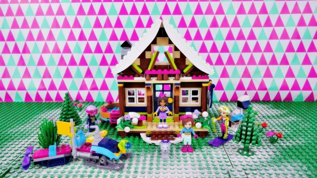 Górski Domek ❄ klocki Lego Friends 41323 Budowanie Recenzja Zabawa