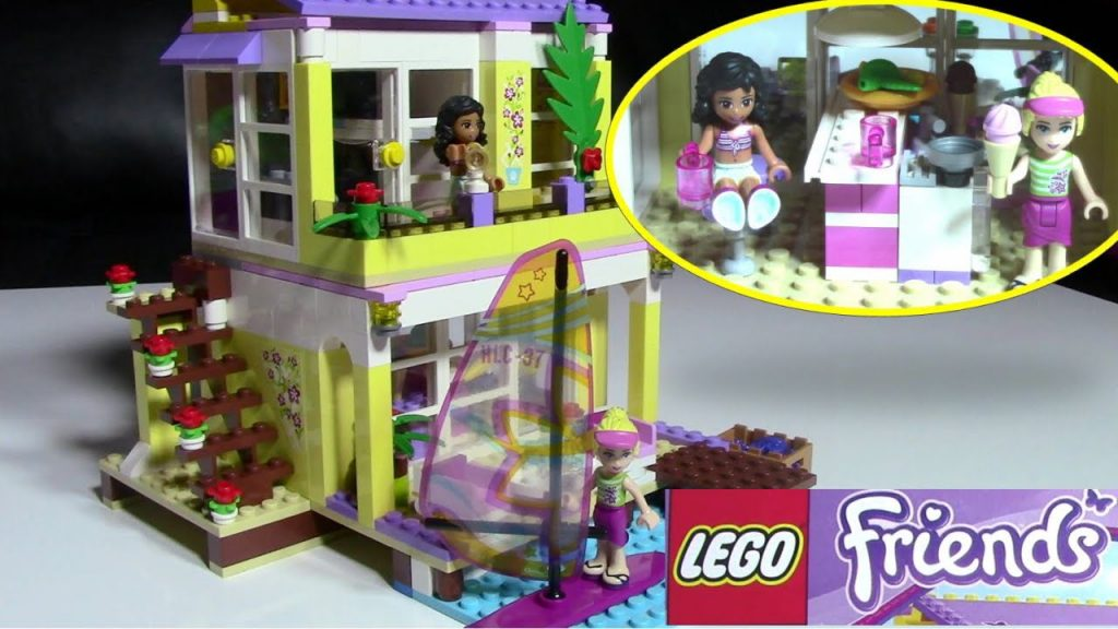 Lego Friends Stephanie and Kate 41037 LEGO House Collection – Kids' Toys