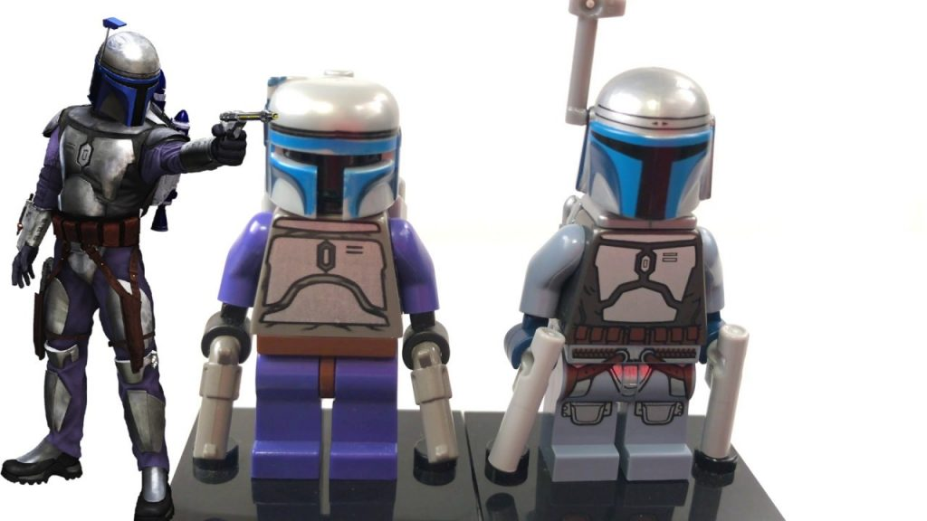LEGO Star Wars JANGO FETT Minifigure Comparison! (2002 VS. 2017)