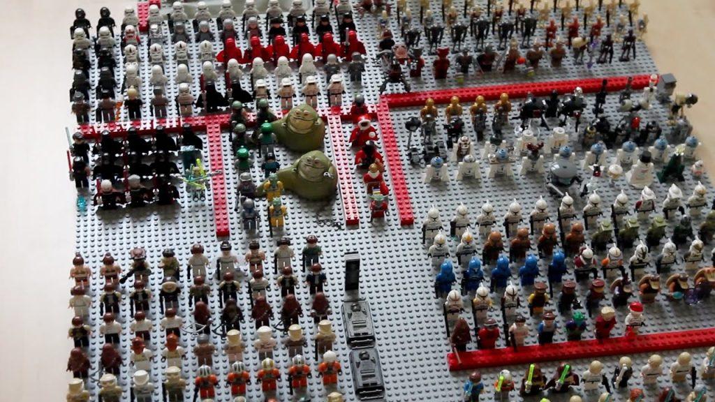 50 Abonnenten Special mit all meinen Lego Star Wars Figuren! :D