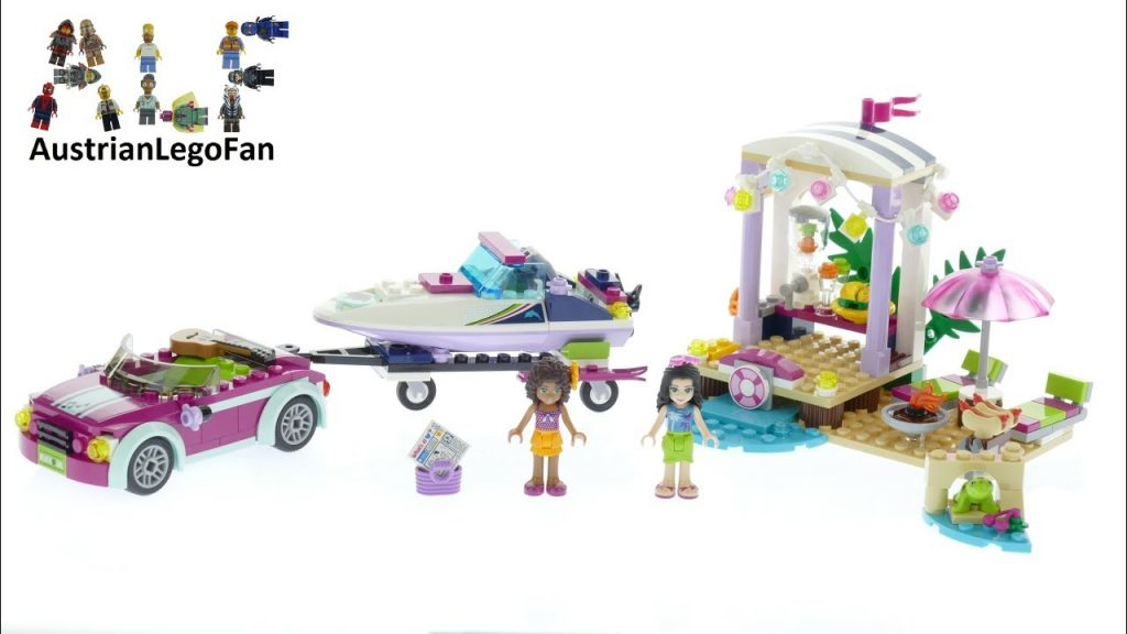 Lego Friends 41316 Andrea´s Speedboat Transporter – Lego Speed Build Review