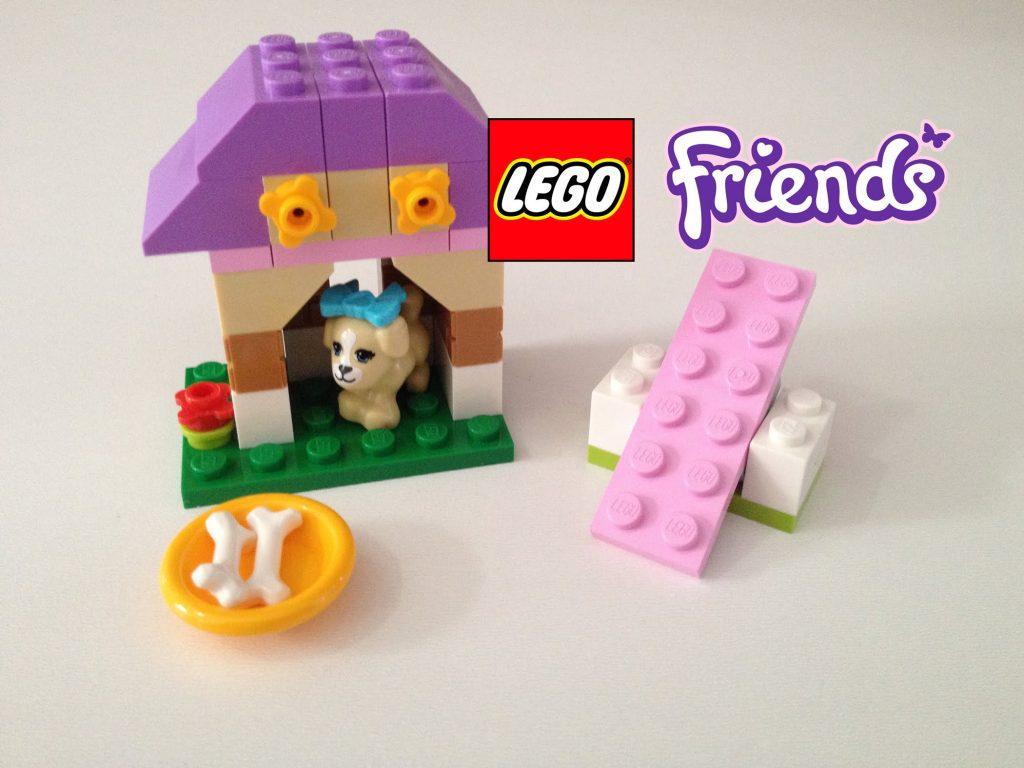 Lego Friends 41025 Set A casa de brincar da cachorra 39 peças Review