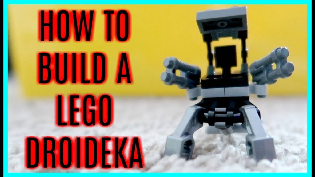 HOW TO BUILD A LEGO STAR WARS DROIDEKA! – MAY 5, 2017 – ModernMom4Life Vlog