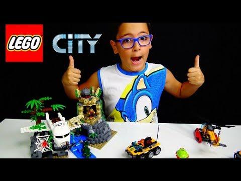 ESPLORAZIONI NELLA GIUNGLA LEGO CITY – Leo Toys