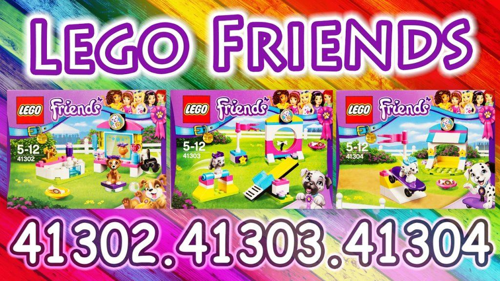 Lego Friends выставка щенков 41302, 41303, 41304.