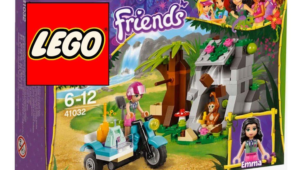 Лего френдс (Lego friends) Обзор игрушки Джунгли Мотоцикл скорой помощи из серии Лего Подружки