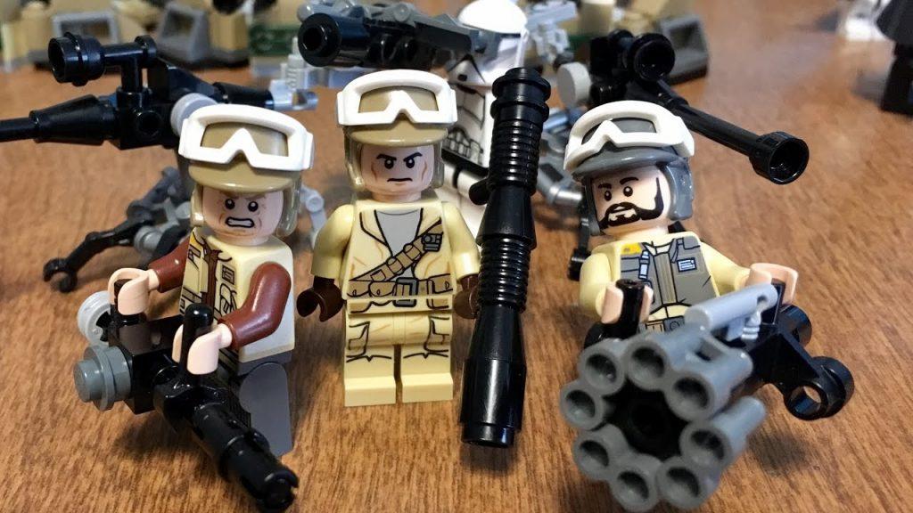 LEGO Star Wars Custom Weapons Tutorial! (A Few of My Own Designs)