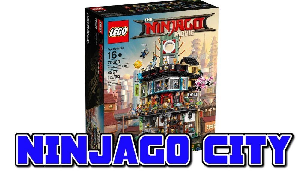 NINJAGO CITY SET! – The LEGO Ninjago Movie (2017)