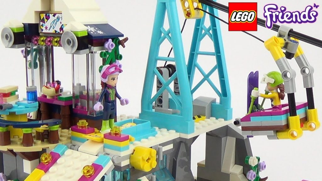 LEGO Friends Snow Resort Ski Lift  – Playset 41324 Toy Unboxing & Speed Build