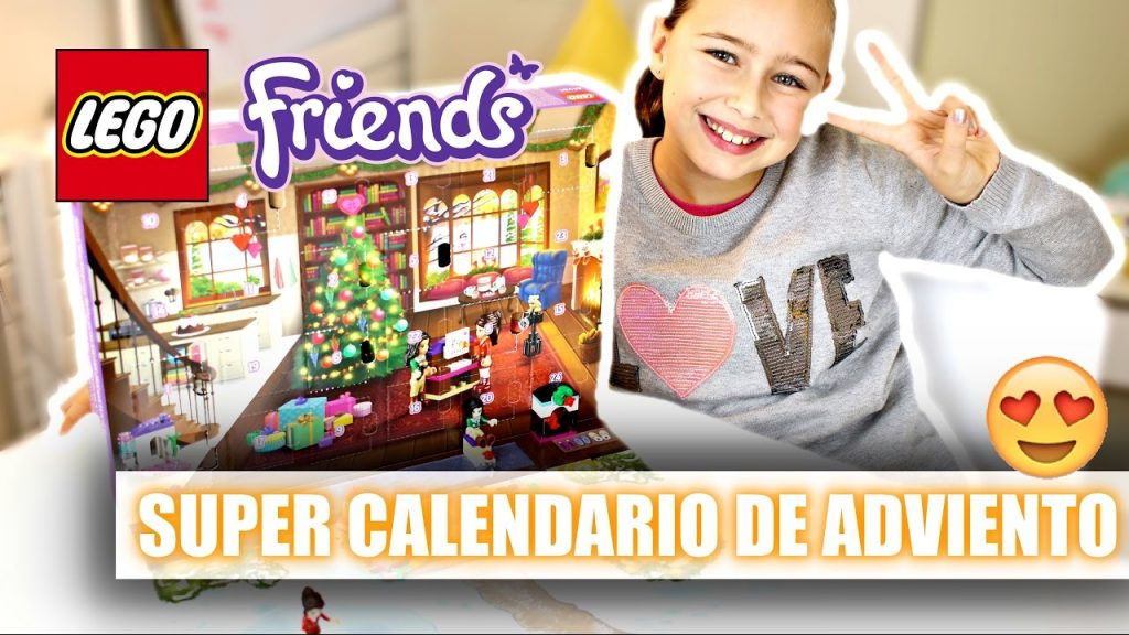 ¡SUPER CALENDARIO NAVIDEÑO DE LEGO FRIENDS!