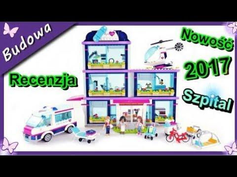Szpital w Heartlake – !!!Nowość!!! klocki Lego Friends 41318 – Budowanie Unboxing Recenzja