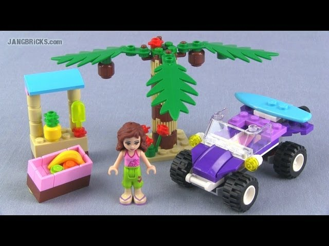 LEGO Friends Olivia's Beach Buggy 41010 Review!