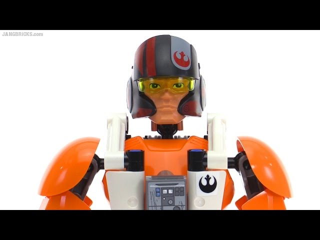 LEGO Star Wars Poe Dameron action figure review! set 75115