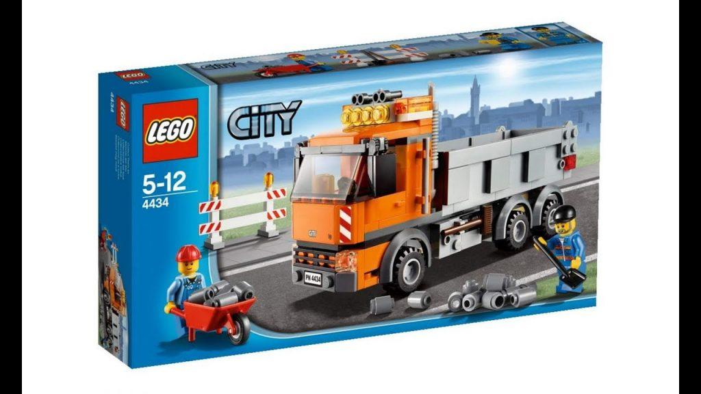 Lego City 4434 Dump Truck – Lego Stop Motion