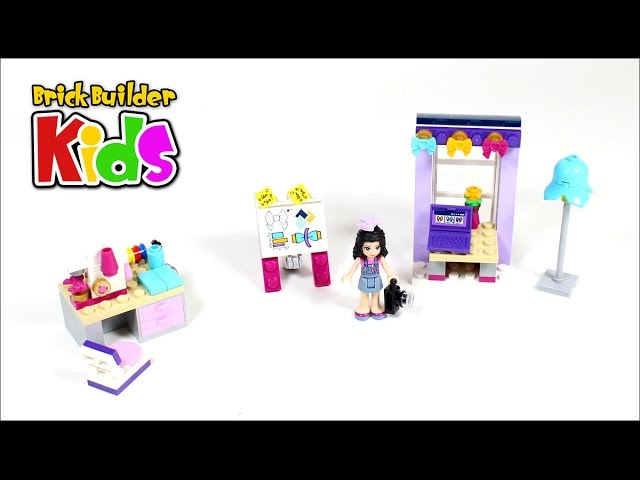 Lego Friends 41115 Emma's Creative Workshop – Lego Speed Build for Kids