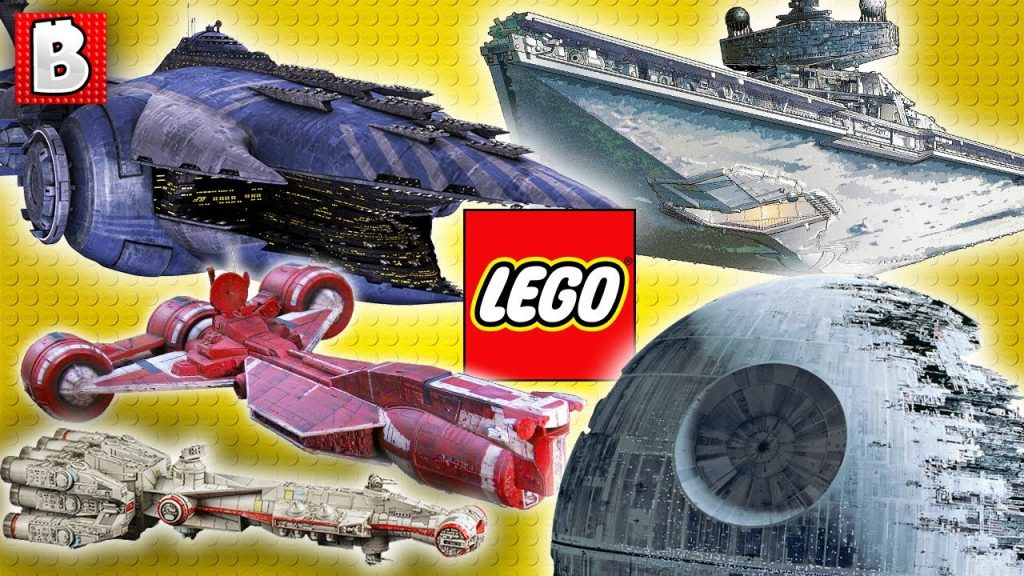 LEGO Star Wars Ships Size Comparison in Minifigure Scale!!!