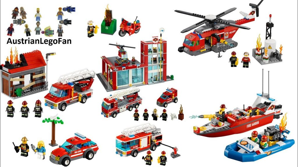 All Lego City Fire Sets 2013 – Lego Speed Build Review