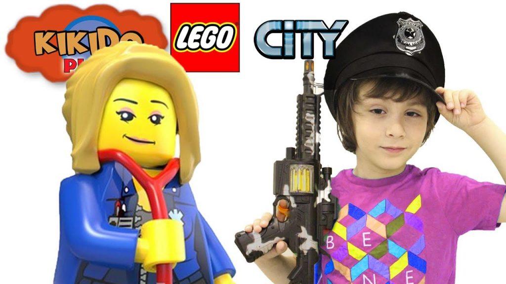 👮 LEGO CITY UNDERCOVER Крутой ПАРКУР Спасаем МИЛЛИОНЕРА Видео для детей Кикидо плей
