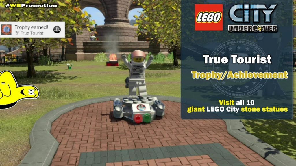 Lego City Undercover: True Tourist Trophy/Achievement – HTG