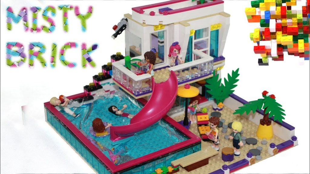 Lego Friends House  #17 Improvements by Misty Brick.
