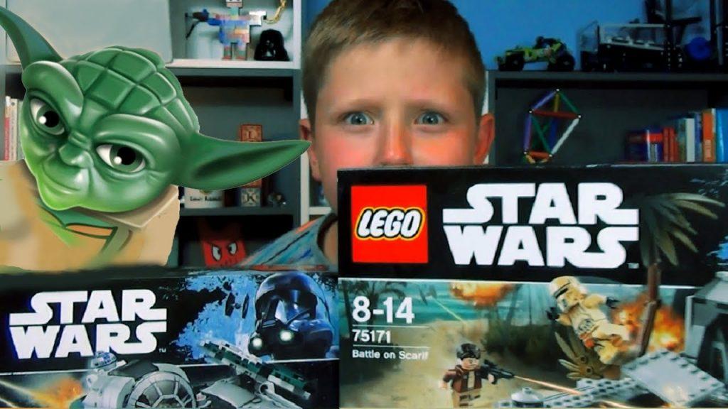 LEGO STAR WARS + LEKCJA MISTRZA YODY