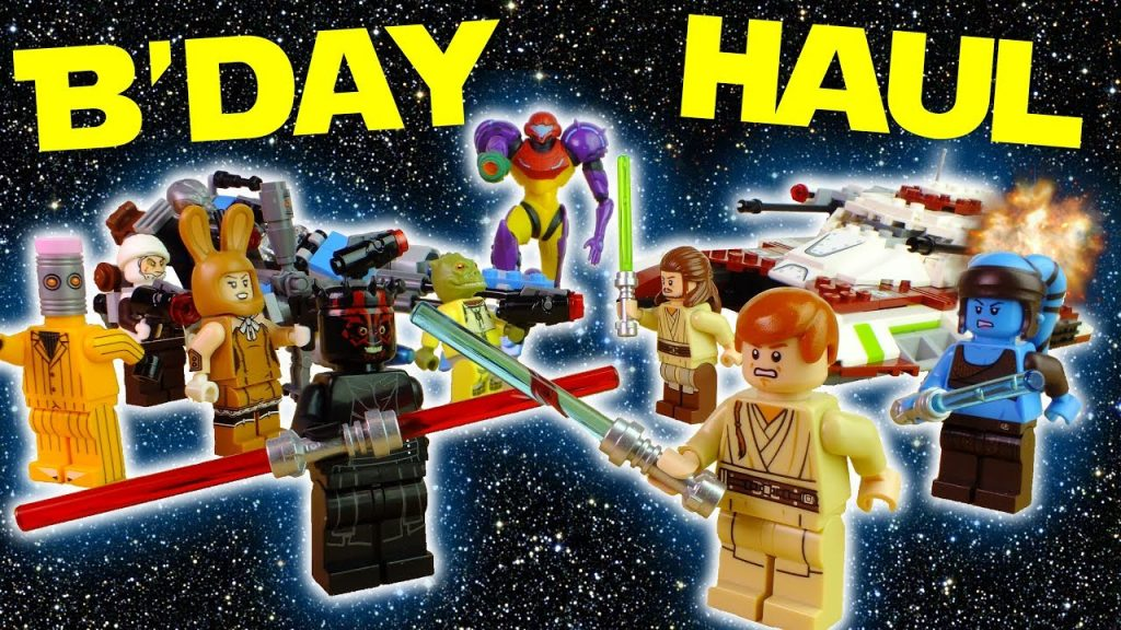 SO MUCH LEGO! Huge Birthday Haul With LEGO Star Wars, Hot Wheels & Metroid! | Nerdy Nom Nom