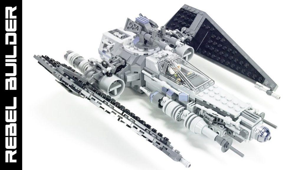 "LEGO Star Wars ""Ugly"" Starfighter Z'-ceptor MOC!"