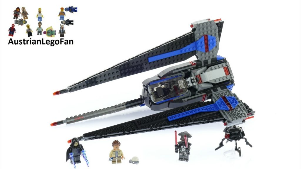 Lego Star Wars 75185 Tracker I – Lego Speed Build Review