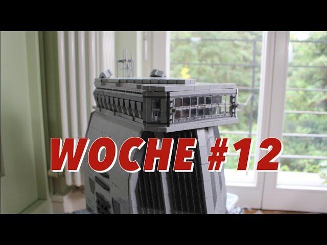 Building Zitadelle LEGO Star Wars Deutsch Woche #12 – Dach fertig, BL