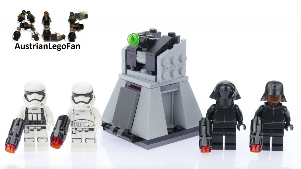 Lego Star Wars 75132 First Order Battle Pack – Lego Speed Build Review